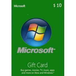 گیفت 10 دلاری مایکروسافت امریکا