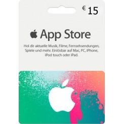 گیفت کارت 15 یورو آیتونز آلمان لهستان مجارستان اتریش