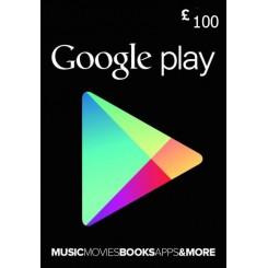 گیفت کارت 100 پوندی گوگل انگلیس
