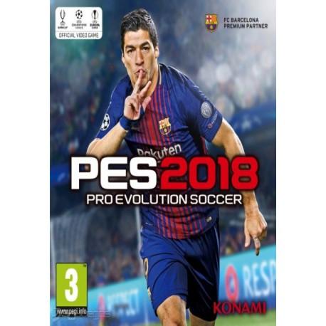 سی دی کی اورجینال Pro Evolution Soccer 2018