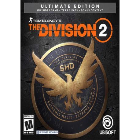 سی دی کی اشتراکی the division 2 ultimate edition
