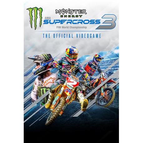 خرید بازی Monster Energy Supercross The Official Videogame 3 برای کامپیوتر