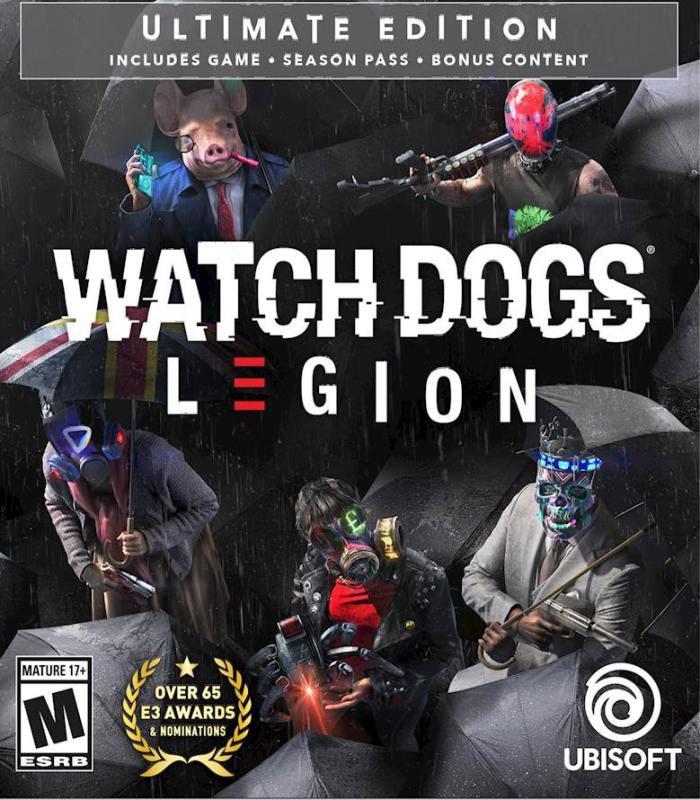 سی دی کی اشتراکی آفلاین بازی نسخه Watch Dogs: Legion Ultimate Edition