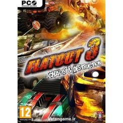 بازی مسابقات بی قانون فلت اوت 3 |FlatOut 3: Chaos And Destruction