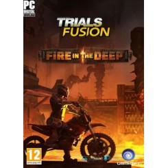 مهارت های تلفیقی موتورسواری اعماق آتش | Trials Fusion Fire in the Deep