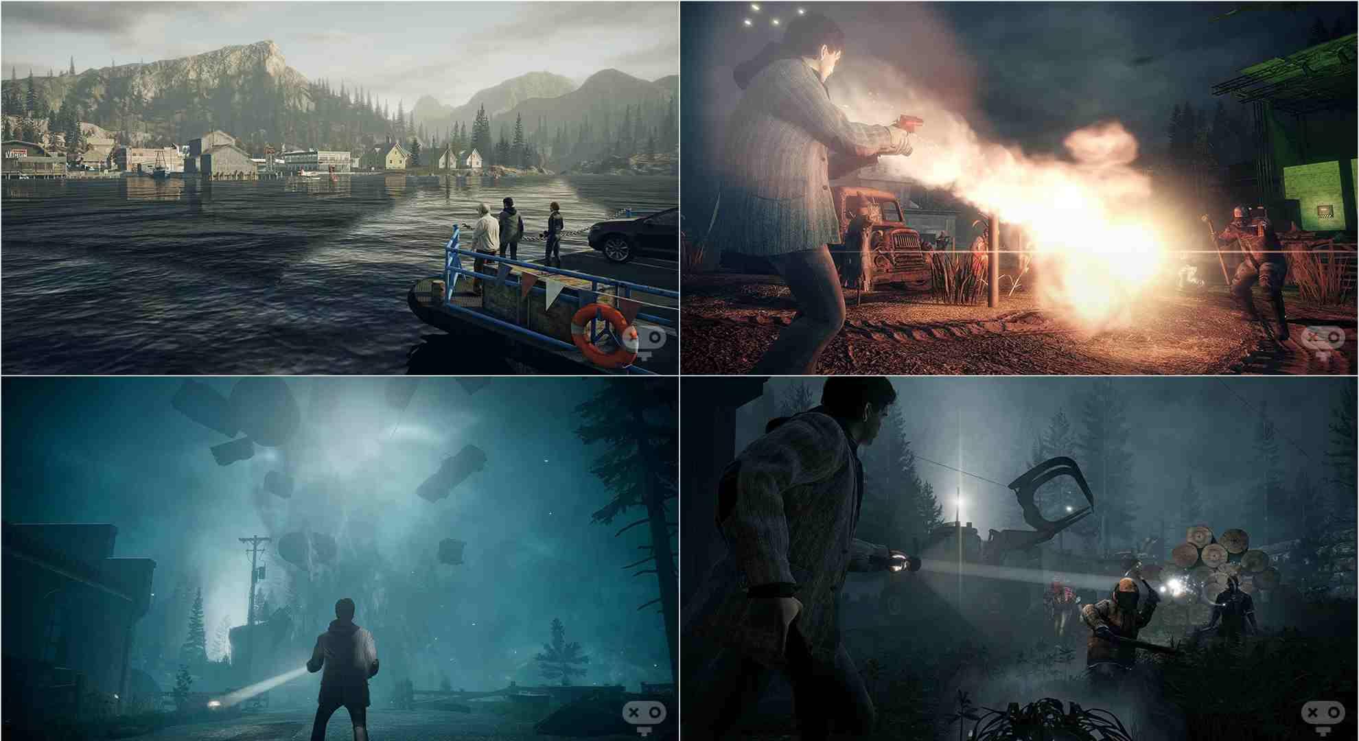بازی Alan Wake Remastered برای کامپیوتر