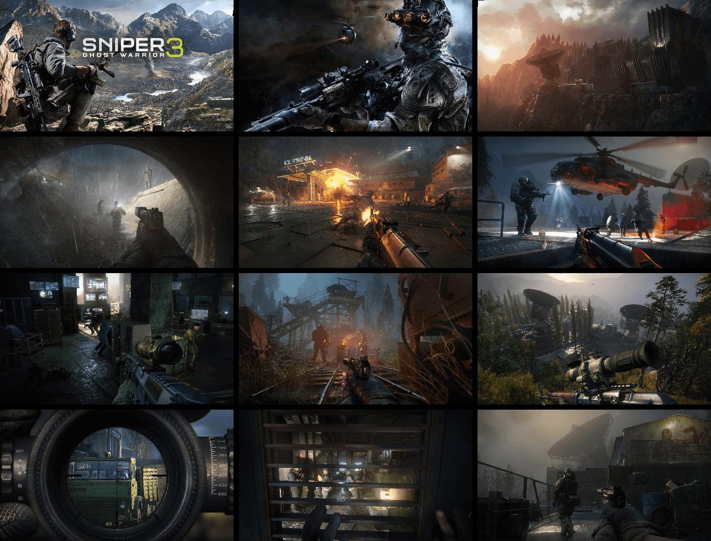 تصاویری از محیط بازی Sniper Ghost Warrior 3