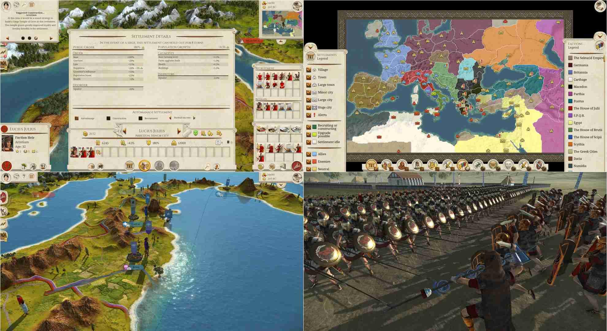 بازی Total War ROME REMASTERED برای کامپیوتر